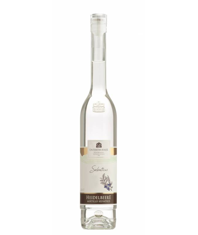 Distillato di Mirtillo Selvatico (500ml) - Distilleria Unterthurner