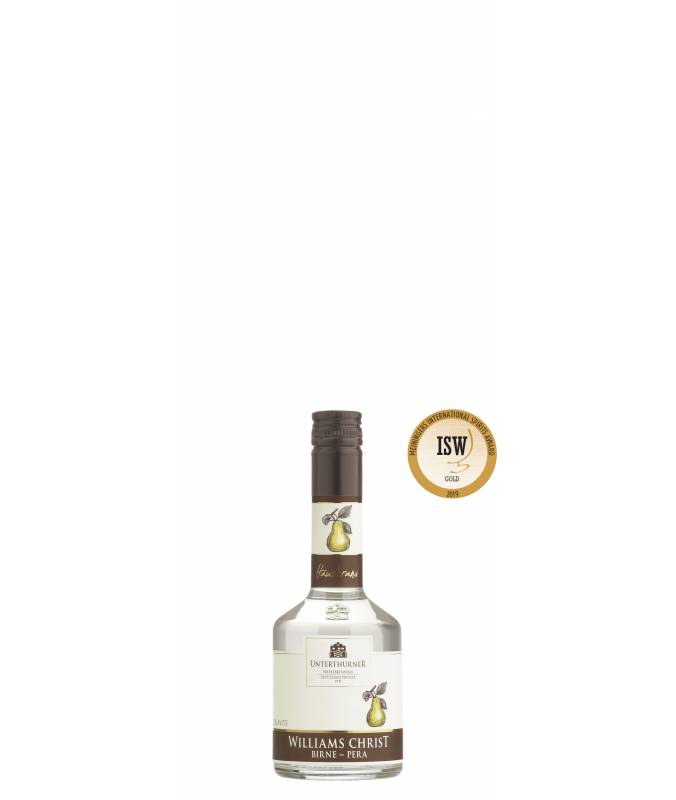 Acquavite Williams Pera 200 ml - Distilleria Unterthurner - ORO International Sprits Award