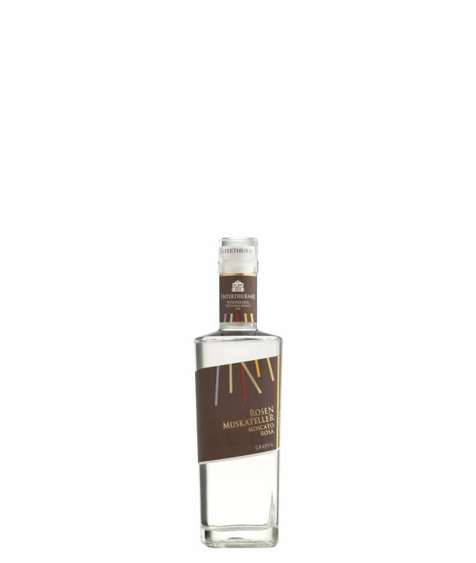 Grappa Moscato Rosa (350ml) - Grappa Premium - Distilleria Unterthurner