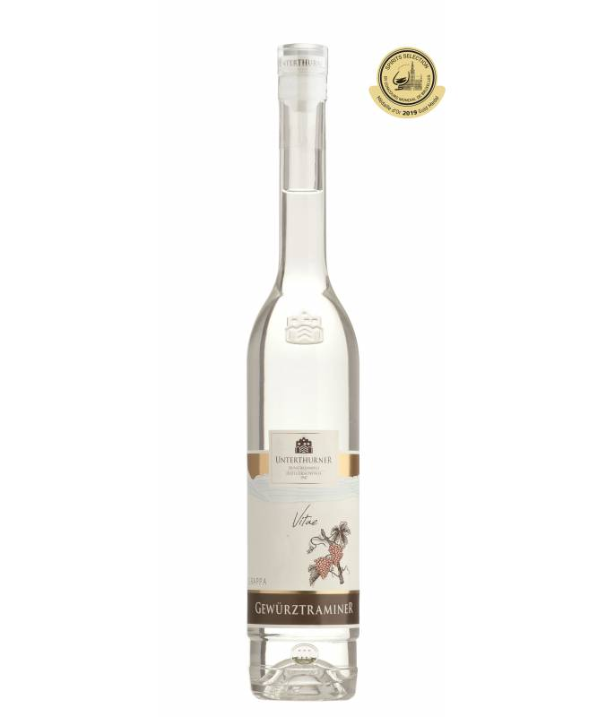 Grappa Gewürztraminer (500ml) - Privatbrennerei Unterthurner - GOLD 2019 Spirits Selection
