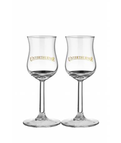 "Set 2 Calici ""Unterthurner"" Classic - Distilleria Unterthurner"