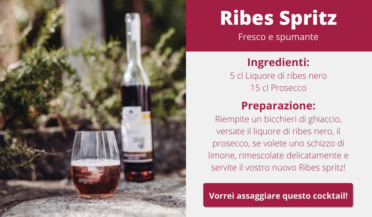 Ribes Spritz Cocktail
